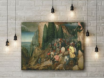 Pieter Bruegel: The Conversion of St Paul. Fine Art Canvas.